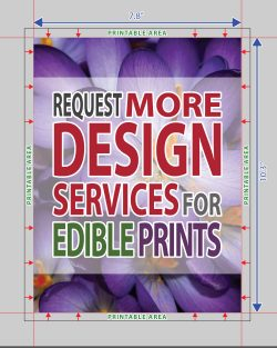 Design Services for Edible Prints