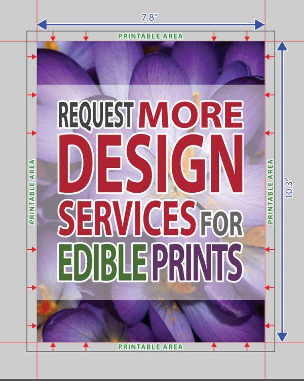 Design Services for Edible Prints