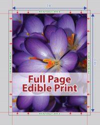 Edible Image Edible Print Services Montreal Canada