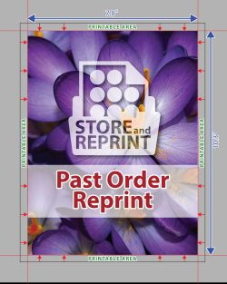 Past Order Reprint - Edible Print